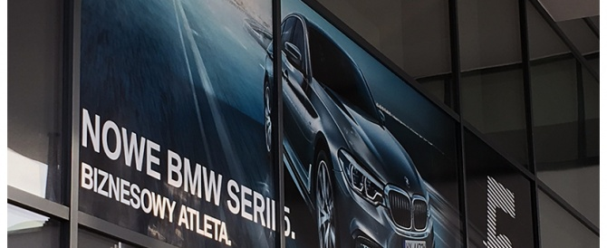 Nowoczesne rozwiązania i nietypowe realizacje, czyli nasza współpraca z marką BMW