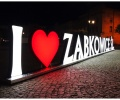 Kochamy Ząbkowice! – czyli przestrzenne litery promują miasto